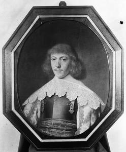 Portret van een man, waarschijnlijk Frans Oetgens van Waveren (1619-1659)