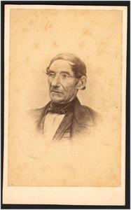 Portret van de schilder Jan Hendrik Breijer (I) (1792-1861), tekenmeester bij de vereniging 'Kunstoefening' te Arnhem