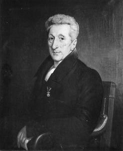 Portret van Wilhelmus Broes (1766-1858)