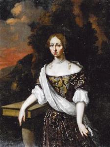 Portret van Tettje Gerroltsma (1663-1691)