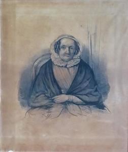 Portret van een vrouw, mogelijk Helena Gerdina van Hoften (1792-1872)