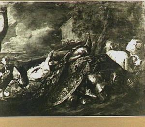 De ark van Noach met allerhande dieren