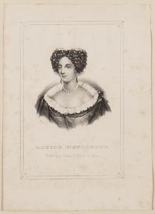 Portret van een vrouw genaamd Louise Henriette van Oranje-Nassau (1627-1667)
