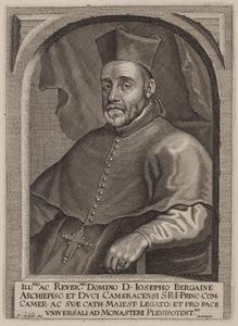 Portret van Josephus de Bergaigne (1588-1647)