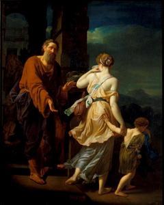 De wegzending van Hagar en Ismael (Genesis 21:16-21)