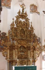 Altaarstuk uit de kerk van Sankt Olai in Helsingør (Denemarken) met scènes uit het leven van Christus