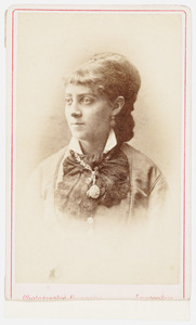 Portret van Charlotte Frederica Louise Kist (1858-1882)