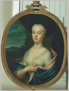 Portret van Wilhelma Henrietta Huyghens (1713-1747)