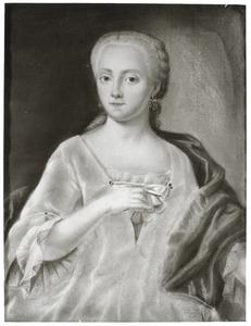 Portret van Louisa Christina Conring (1727-1766)