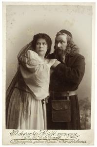 Portret van Maria Margaretha van Gelder (1861-) en Jacques Urlus (1867-1935)