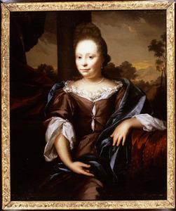 Portret van Catharina van der Plas