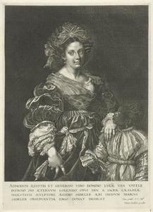 Portret van Laura de' Dianti (c. 1600/5-1573)