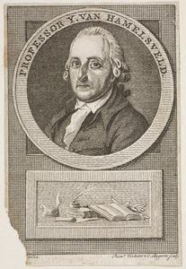 Portret van IJsbrand van Hamelsveld (1743-1812)