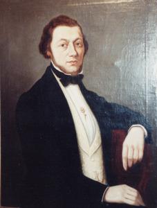 Portret van Joannes Jacobus Harte (1823-1869)
