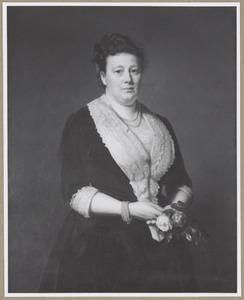 Portret van Paulina Bisdom van Vliet (1840-1923)