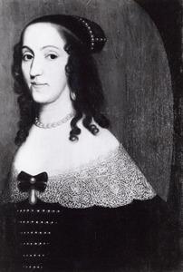 Portret van Louise Christine zu Solms-Braunfels (1606-1669)