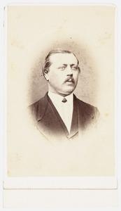 Portret van Henri Adolphus Nicolaus Mauritz van Lamsweerde (1828-1901)