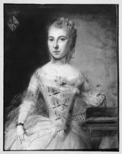 Portret van Clara Louisa Bouricius ( -1821)