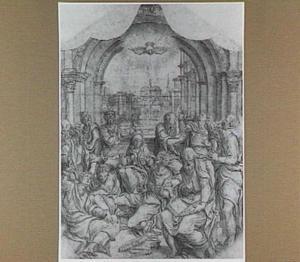 Pinksteren: neerdaling van de Heilige Geest op de apostelen