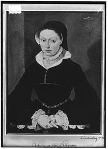 Portret van Adriana van Nassau ( -1558)