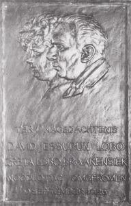 Dubbelportret van David Jessurun Lobo (1884-1926) en Greta Braakensiek (1882-1926)