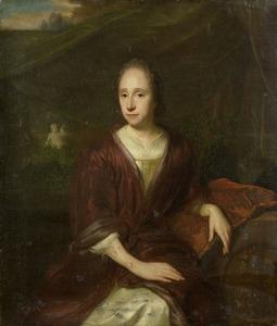 Portret van Margaretha Nelis (1652-1705)