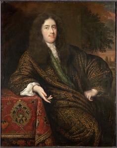Portret van François van Bredehoff, echtgenoot van Johanna Hamel