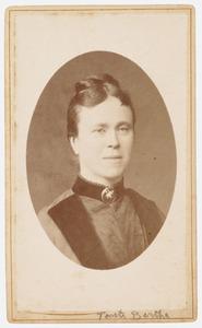 Portret van Bertha Petronella Bernardina Kock (1840-1923)