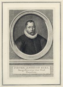 Portret van Pieter Jansz. Kies (1536-1597)
