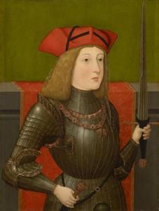 Portret van keizer Karel V (1500-1558)