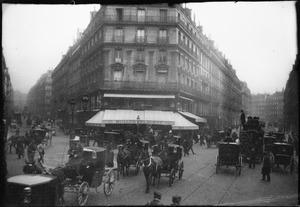Paardenkoetsen te Parijs