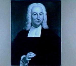 Portret van Gijsbertus Matthias Elsner (1698-1775), hoogleraar in de Godgeleerdheid in Utrecht 1739-1775