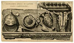 Iconismus Apicis in Lapide Clivi Capitolini