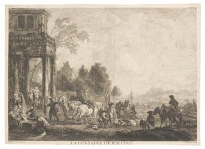 La fontaine du Bacchus