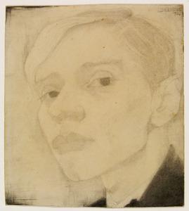 Zelfportret, driekwart naar links