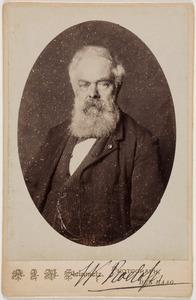 Portret van Willem Roelofs (1822-1897)