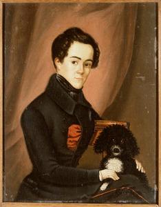 Portret van Willem van der Bank (1816-1842)