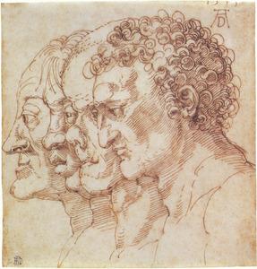 Vier hoofden