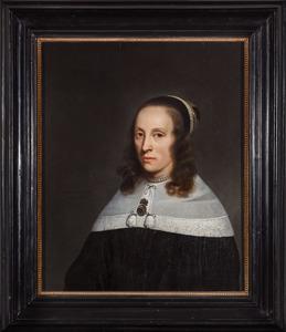 Portret van Margaretha de Veer (?-1688)