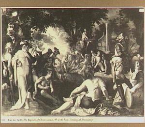 De doop van Christus (Mattheüs 3:13-17)