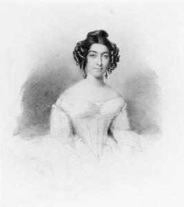 Portret van Everdine Suzette van der Staal (1804-1885)