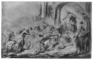Joram en de hongersnood tijdens het beleg van Samaria (2 Koningen 6:26)