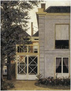 Achterkant huis, Laan van Meerdervoort