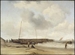 Strandgezicht bij Den Helder
