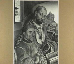 De H. Hieronymus met een stichter
