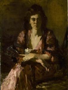 Portret van Lizzy Ansingh (1875-1959)