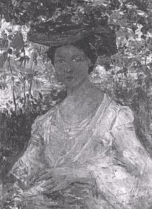 Portret van Cornelia Hendrika Maria den Breejen (1887-1985)