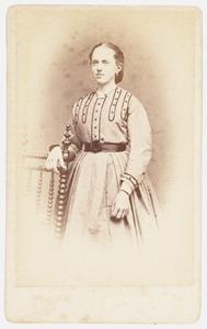 Portret van Johanna Wijnanda Hermina van Heusde (1855- )