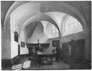 Consistoriekamer van de Grote Kerk te Breda