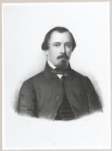 Portret van Engelbert Antoine de Roo van Westmaas (1819-1902)